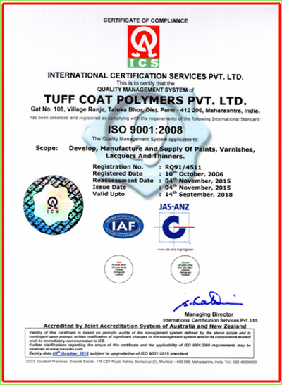 An ISO 9001 : 2008 Certified Company